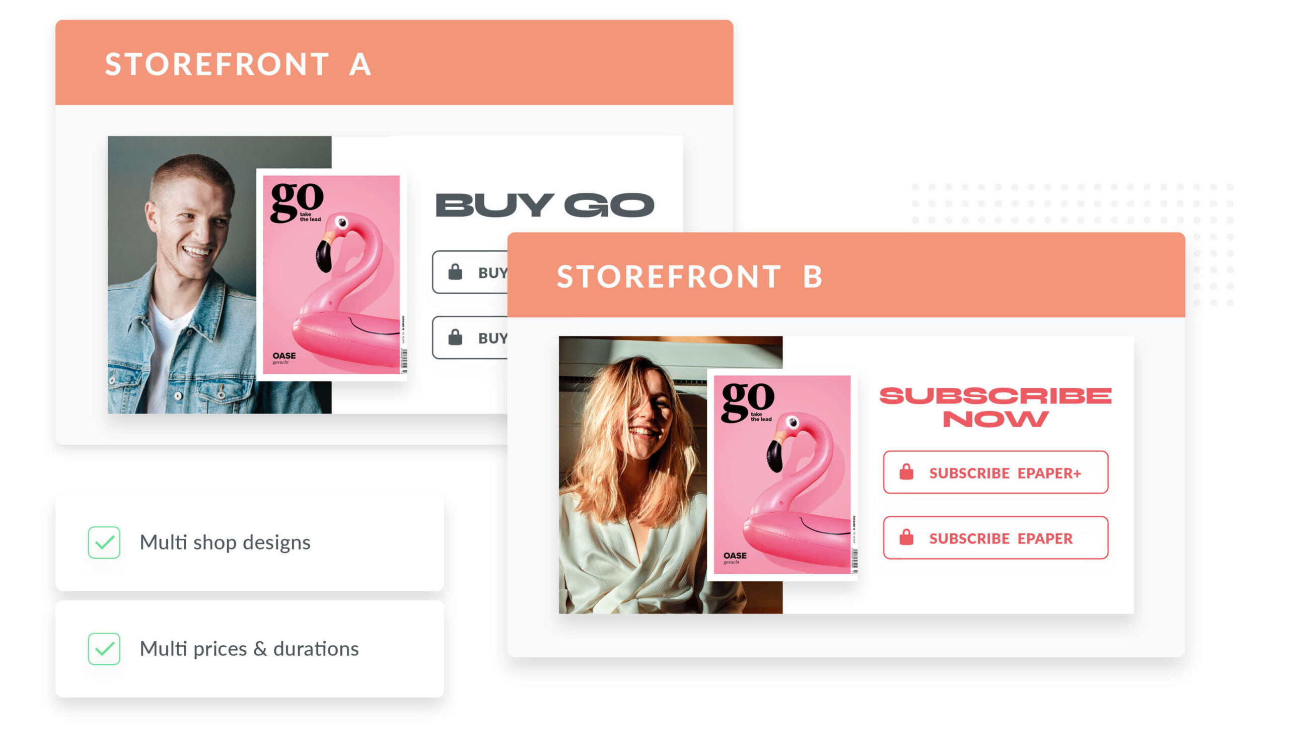Storefront ePaper Shop Subscription